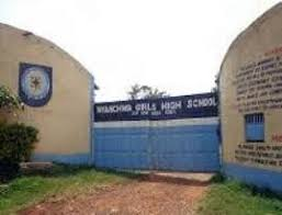 Nyanchwa Girls High School in Kisii County.