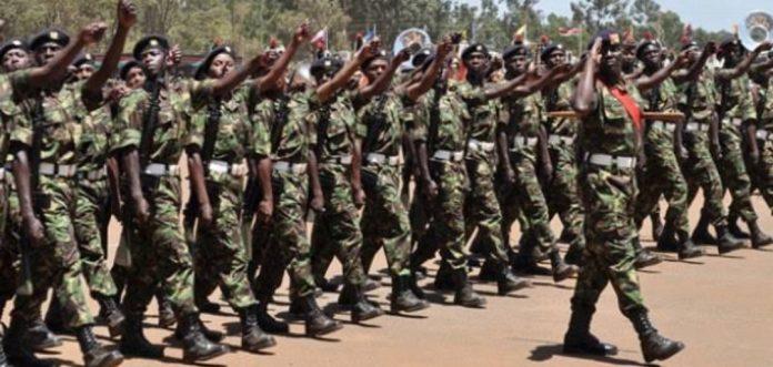Kenya Defence Forces, KDF, officers.