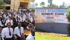 St Peters NyakeminSt Peters Nyakemincha Secondary School 2cha is one of the top performing secondary school; not only in Nyamira County but also nationally. This article provides complete information about this school. Get to know the school's physical location, directions, contacts, history, Form one selection criteria and analysis of its performance in the Kenya Certificate of Secondary Education, KCSE, exams. Get to see a beautiful collation of images from the school's scenery; including structures, signage, students, teachers and many more. For all details about other schools in Kenya, please visit the link below; SCHOOLS' NEWS PORTAL NYAKEMINCHA SECONDARY SCHOOL'S PHYSICAL LOCATION St. Peter Nyakemincha Secondary School is located in Bonyamatuta location, Nyamira Division, Nyamira South Subcounty within Nyamira County; in the Nyanza Region of Kenya. It is a mixed day and boarding secondary school. NYAKEMINCHA SECONDARY SCHOOL'S INFO AT A GLANCE SCHOOL'S NAME: St Peters Nyakemincha Secondary School SCHOOL'S TYPE: Mixed Day and Boarding SCHOOL'S CATEGORY: County School SCHOOL'S LEVEL: Secondary SCHOOL'S LOCATION: located in Bonyamatuta location, Nyamira Division, Nyamira South Subcounty within Nyamira County; in the Nyanza Region of Kenya. SCHOOL'S KNEC CODE: SCHOOL'S OWNERSHIP STATUS: Public SCHOOL'S PHONE CONTACT: 0734754087 SCHOOL'S POSTAL ADDRESS: P.O. Box 137-40200, Kebirigo SCHOOL'S EMAIL ADDRESS: SCHOOL'S WEBSITE: NYAKEMINCHA SECONDARY SCHOOL'S BRIEF HISTORY FOR A COMPLETE GUIDE TO ALL SCHOOLS IN KENYA CLICK ON THE LINK BELOW; SCHOOLS' NEWS PORTAL Here are links to the most important news portals: KUCCPS News Portal TSC News Portal Universities and Colleges News Portal Helb News Portal KNEC News Portal KSSSA News Portal Schools News Portal Free Teaching Resources and Revision Materials NYAKEMINCHA SECONDARY SCHOOL'S VISION NYAKEMINCHA SECONDARY SCHOOL'S MISSION NYAKEMINCHA SECONDARY SCHOOL'S MOTTO NYAKEMINCHA SECONDARY SCHOOL'S CONTACTS In need of more inf