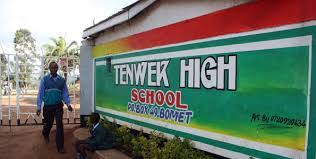 Tenwek High School KCSE results.