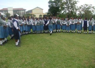 Bahati Girls' High school; Student life and times in photos.