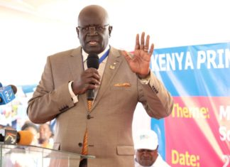 Education CS Prof George Magoha at a past event.