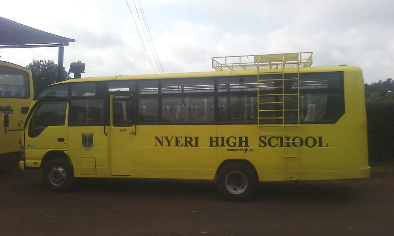 Student's life and times at Nyeri high school/ Pictorial view