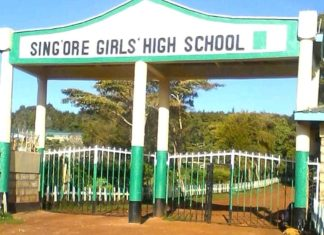In pictures: Student's life and times at Sing'ore Girls High School.