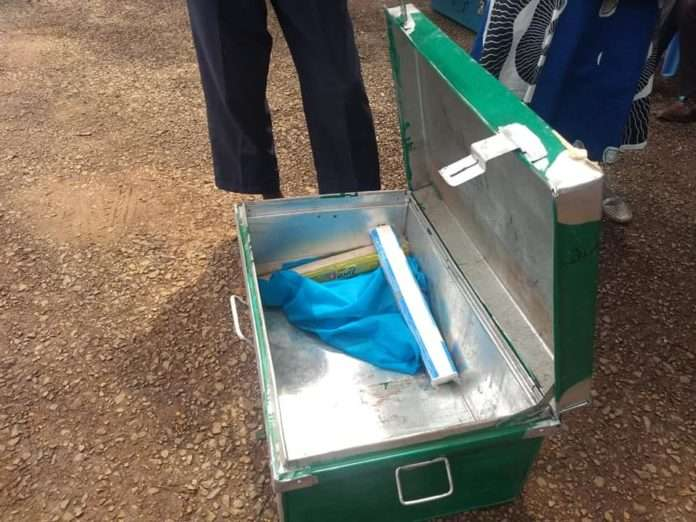 A Form one student reports to school with only two bars of soap.