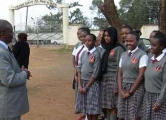 Chania Girls High School in Kiambu