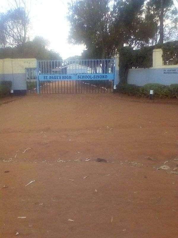 St. Paul's High School Sinoko