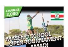 The Maseno School Annual Open Tournament.