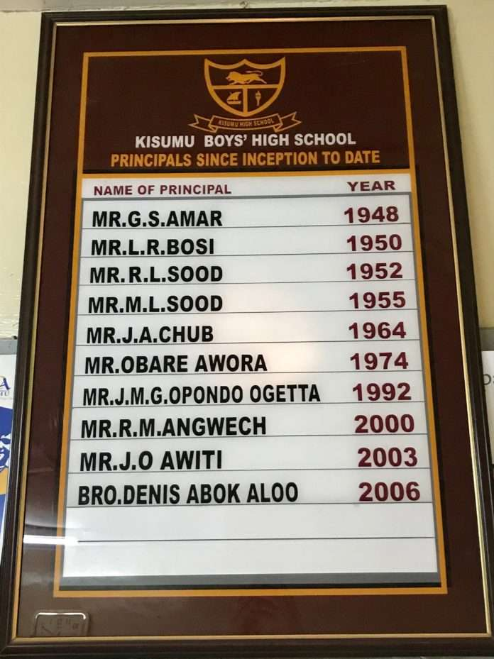 Kisumu Boys High School details