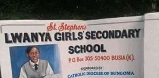 Lwanya Girls High School