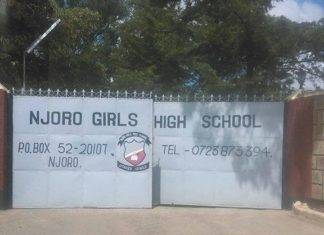 Njoro Girls High School results