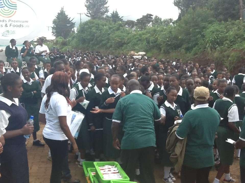 Precious Blood Kagwe Girls High School