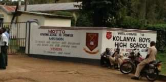 S.A Kolanya Boys High School