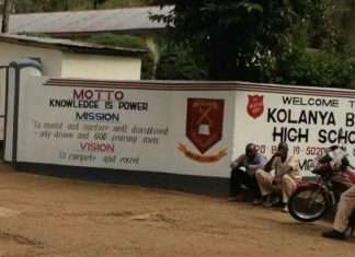 S.A Kolanya Boys High School