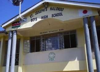 St. Joseph's Nalondo Boys Secondary School