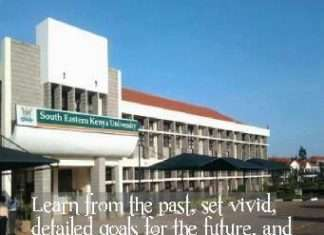 South Eastern Kenya University (SEKU) student admission letters and KUCCPS admission list free pdf download.