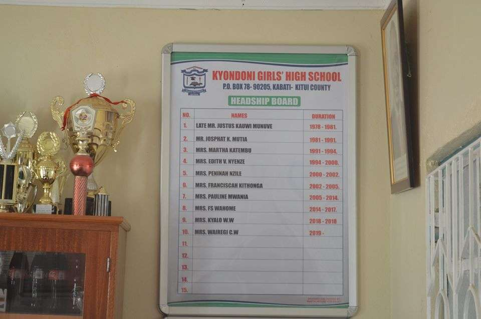 Kyondoni Girls' High School