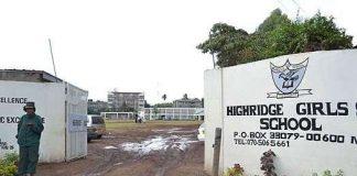 HIGHRIDGE GIRLS BOARDING SECONDARY SCHOOL