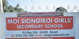 Moi Siongiroi Girls' Secondary School