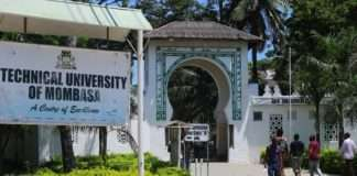 Technical University of Mombasa (TUM) student admission letter and KUCCPS admission list free pdf download.
