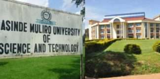 Masinde Muliro University of Science and Technology - MMUST, 2020/ 2021 KUCCPS admission letters and pdf lists download.