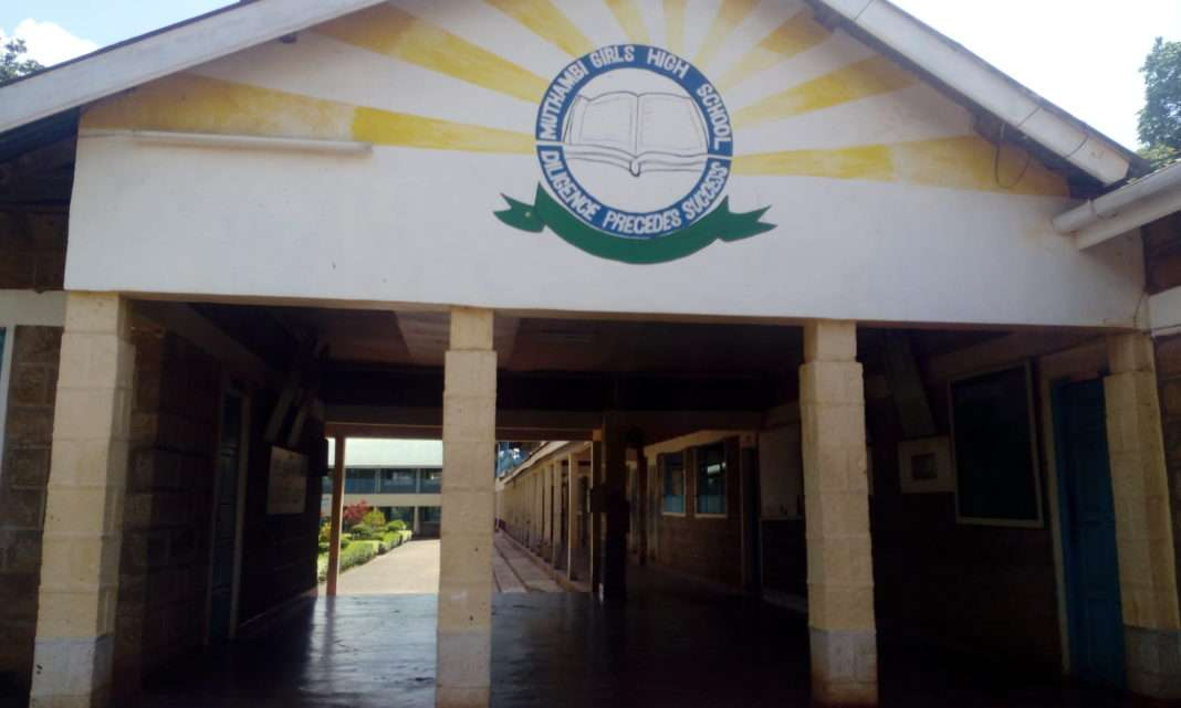 MUTHAMBI GIRLS HIGH SCHOOL