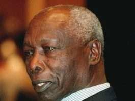 Former President, the late Daniel Toroitich Arap Moi.