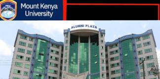 Mount Kenya University (MKU) student admission letter and KUCCPS pdf list download