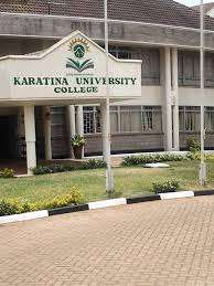 Karatina University 2020/ 2021 KUCCPS admission letters and Lists