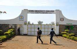 Uzima University student admission letter and KUCCPS admission list pdf download.
