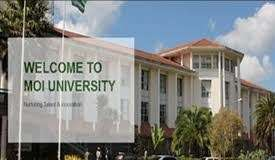 Moi University Students admission letter and KUCCPS pdf list download.
