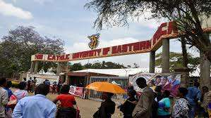 The Catholic University of East Africa (CUEA) student admission letter and KUCCPS pdf list download.