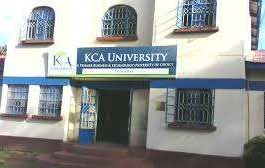 KCA University student admission letter and KUCCPS admission list pdf download.