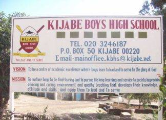 KIJABE BOYS HIGH SCHOOL