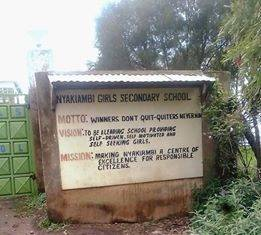 NYAKIAMBI GIRLS SECONDARY SCHOOL
