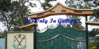GITHIGA HIGH SCHOOL