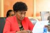 Dr. Nancy Macharia; the TSC Chief Executive Officer.