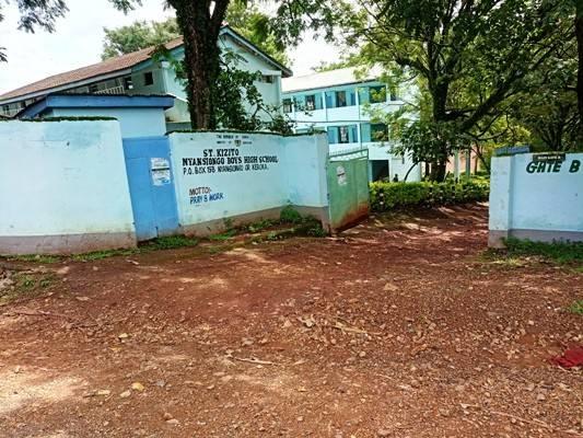 ST. Kizito Nyansiongo Boys High School.