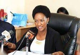TSC Boss Dr. nancy Macharia. The Standard NewsPaper has apologized to the Commission over the erroneous feature on Teacher Interns' status.