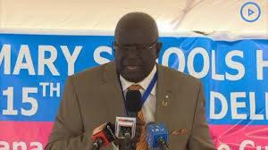 Education Cabinet Secretary Prof George Magoha.