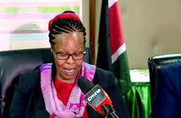 KNEC Boss Dr. Mercy Karogo. The Council has suspended ECDE and SNE examinations that were to be done in April, 2020.