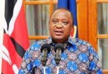 President uhuru Kenyatta. He has reassured this year's KCSE and KCPE candidates that the exams will go on as scheduled.