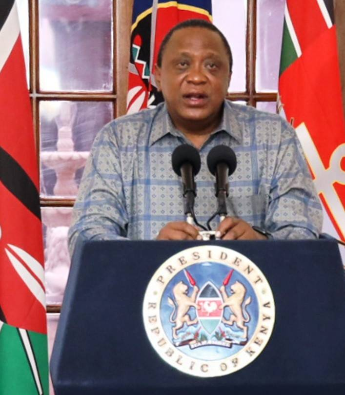 President Uhuru Kenyatta. It is a relief for employees as their PAYE Tax will now be reduced so as to cushion them from effects of the Corona virus pandemic.