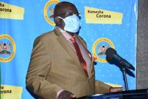 Education CS Prof. George Magoha. He has extended the April holiday for learners by one Month.