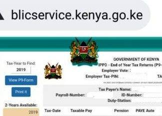 P9 forms for all public servants from the ghris portal; https://www.ghris.go.ke/