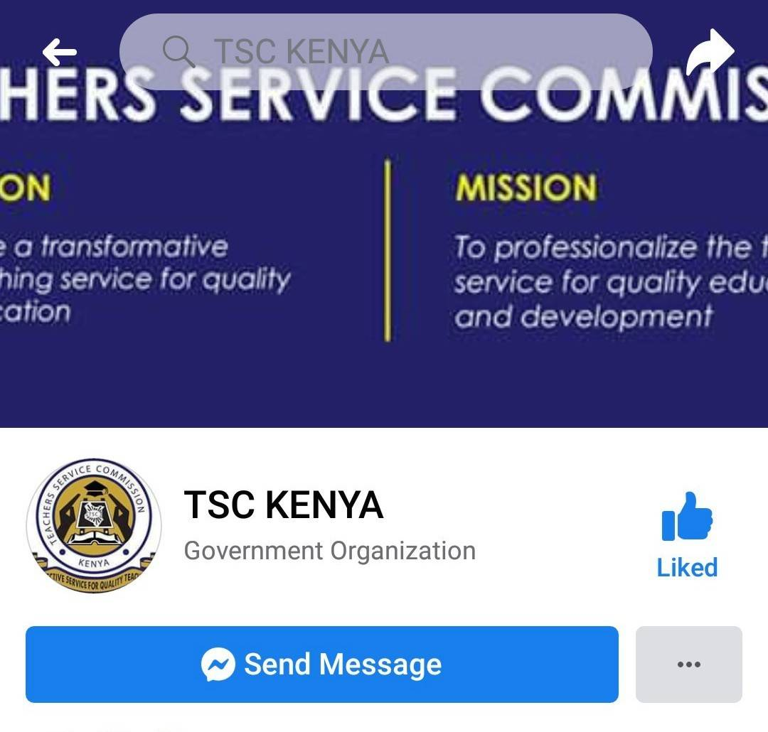 Official TSC Facebook Page.