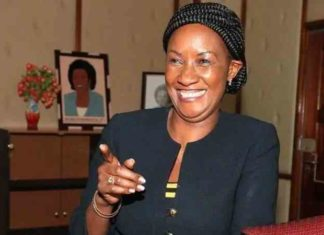 TSC CEO Dr. Nancy Macharia. The Commission has so far raised over Sh10 billion towards the National Emergency Response Committee on Coronavirus fund.