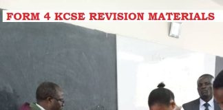 FORM 4 KCSE EXAM PAPERS AND MARKING SCHEMES. FREE DOWNLOADS.