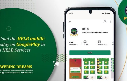Apply for the undergraduate HELB second and subsequent loans via the HELB Mobile App and the USSD mobile code today.
