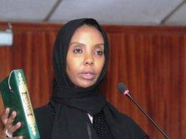 New TSC Commissioner Leila Abdi.